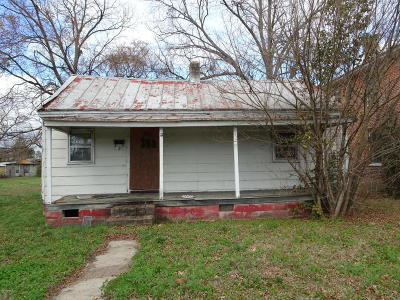 Rocky Mount Single Family Home For Sale: 340 W Raleigh Boulevard