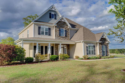 Holly Ridge Single Family Home Active Contingent: 105 Camelot Drive