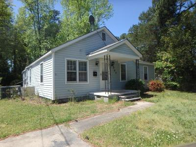 Jacksonville Single Family Home For Sale: 307 Roosevelt Road