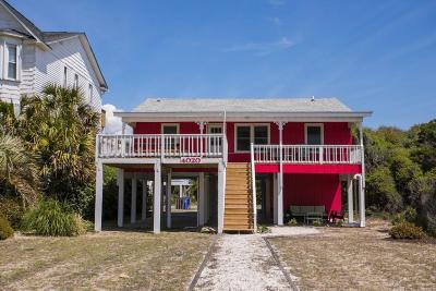 Oak Island Single Family Home For Sale: 4020 E Beach Drive