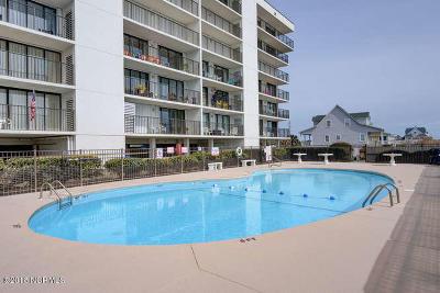 North Topsail Beach, Surf City, Topsail Beach Condo/Townhouse For Sale: 4110 Island Drive #301