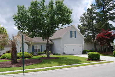 Magnolia Greens Single Family Home For Sale: 1002 Winterberry Circle