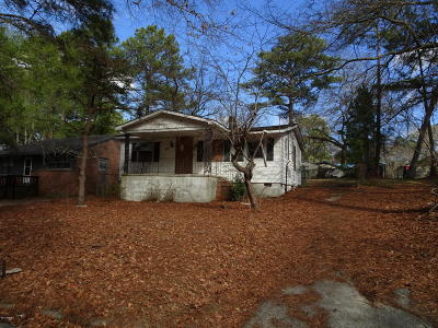 Rocky Mount Single Family Home For Sale: 1545 Tadlock Avenue