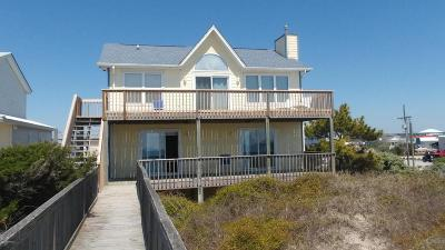 North Topsail Beach, Surf City, Topsail Beach Single Family Home For Sale: 202 S Shore Drive