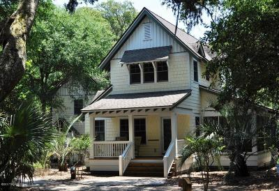 Bald Head Island Single Family Home For Sale: 6 Poor Mans Pepper Trail