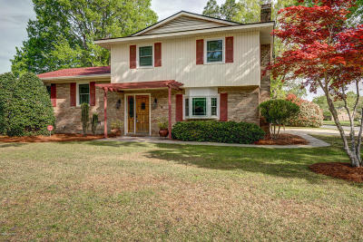 Edgecombe County Single Family Home For Sale: 1400 Chauncey Drive