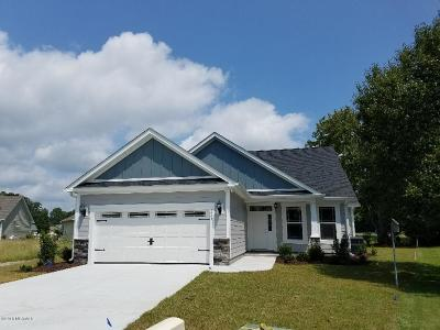 Ocean Isle Beach Single Family Home For Sale: 1663 E Magnolia Court SW