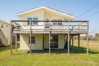 Atlantic Beach Single Family Home For Sale: 312 W Bogue Boulevard