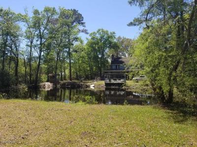 Calabash Single Family Home For Sale: 1710 Beach Drive SW