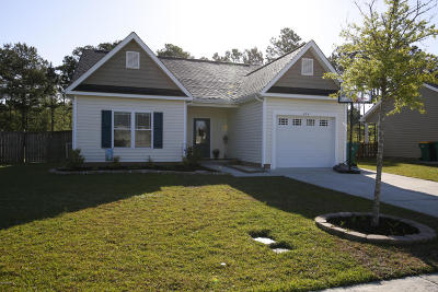 Swansboro Single Family Home For Sale: 414 Patriots Point Lane