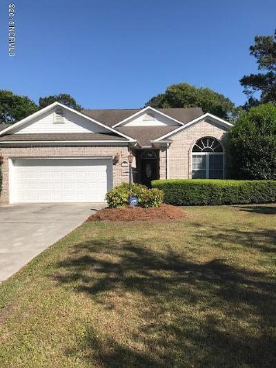 Onslow County Single Family Home For Sale: 118 N Shore Drive
