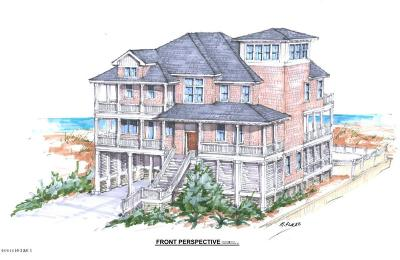 North Topsail Beach, Surf City, Topsail Beach Single Family Home For Sale: 768 New River Inlet Road
