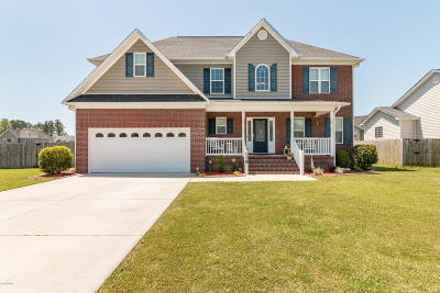 Jacksonville Single Family Home For Sale: 119 Hills Lorough Loop