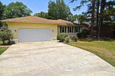 New Bern Single Family Home For Sale: 1836 Caracara Drive
