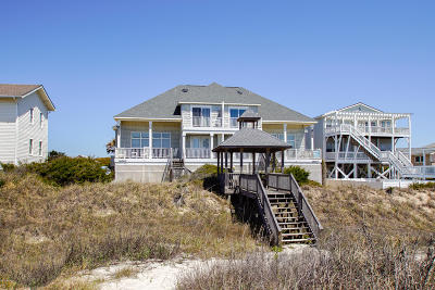 Oak Island Single Family Home For Sale: 1629 E Beach Drive