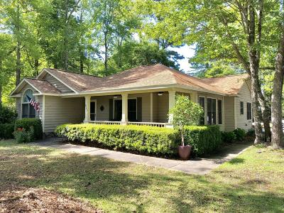 Morehead City Single Family Home For Sale: 821 Lord Granville Drive