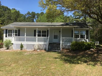 Winnabow Single Family Home For Sale: 8560 Daws Creek Road SE