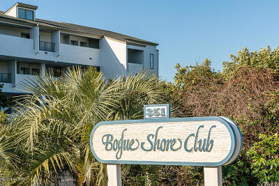 Pine Knoll Shores Condo/Townhouse For Sale: 351 Salter Path Road #303