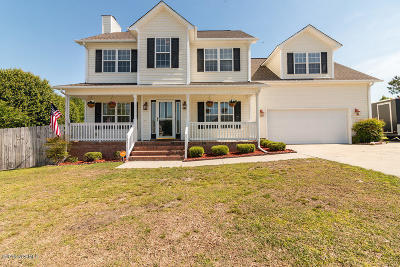 Jacksonville Single Family Home For Sale: 103 Duplin Court