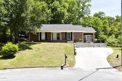 Jacksonville Single Family Home For Sale: 705 Plaza Drive