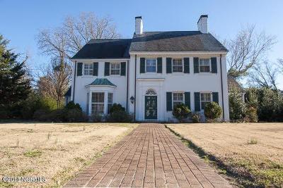 Kinston Single Family Home For Sale: 606 Rountree Street