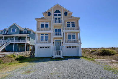 North Topsail Beach, Surf City, Topsail Beach Single Family Home For Sale: 31 Porpoise Place