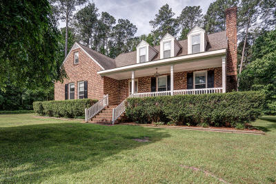 Nash County Single Family Home For Sale: 7900 Bridgeview Road