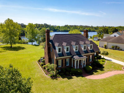 New Bern Single Family Home For Sale: 5012 Lakeshore Drive