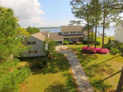 Sneads Ferry Single Family Home For Sale: 158 Old Ferry Road