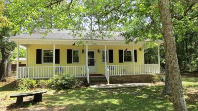 Oak Island Single Family Home For Sale: 406 Crowell Avenue