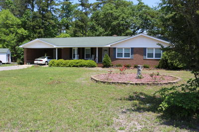 Supply Single Family Home For Sale: 1940 Holden Beach Road SW