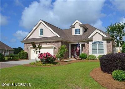 Ocean Isle Beach Single Family Home For Sale: 229 Sedgefield Place SW