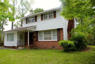 Jacksonville Single Family Home For Sale: 817 Edgewood Drive