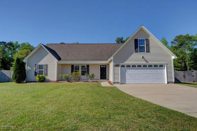 Richlands Single Family Home For Sale: 309 Boss Court