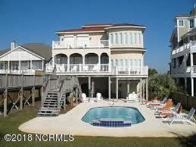 Ocean Isle Beach Single Family Home For Sale: 145 Ocean Isle West Boulevard