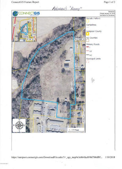 Clinton NC Residential Lots & Land For Sale: $112,500