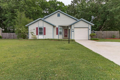 Jacksonville Single Family Home For Sale: 408 Hunting Green Drive