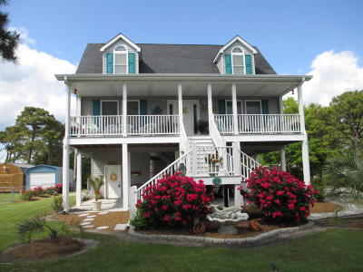 Harkers Island Single Family Home For Sale: 116 Willow Street