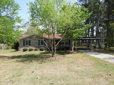 Farmville Single Family Home For Sale: 4821 Greenpine Road