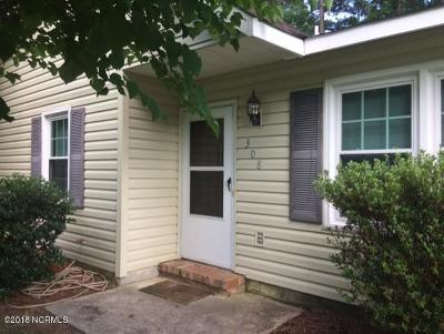 Jacksonville Single Family Home For Sale: 308 Kenwood Drive
