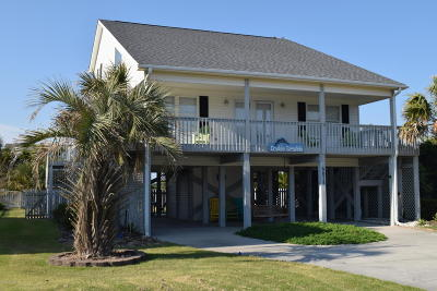Oak Island Single Family Home For Sale: 6624 W Beach Drive