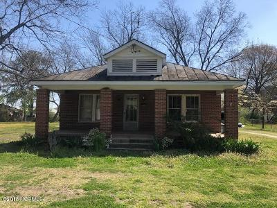 Edgecombe County Single Family Home For Sale: 1113 Clark Street