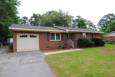 Leland Single Family Home For Sale: 123 Dixie Drive