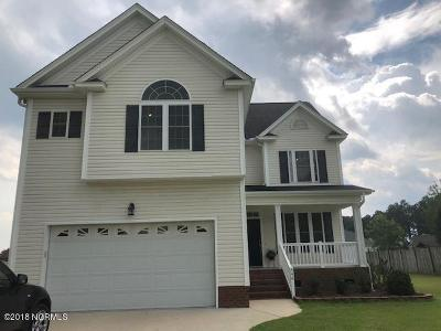Greenville NC Single Family Home For Sale: $220,000