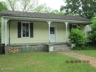 Edgecombe County Single Family Home For Sale: 408 W Walnut Street
