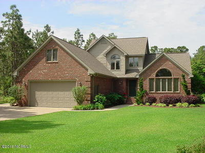 Newport Single Family Home Active Contingent: 252 Sandhills Drive
