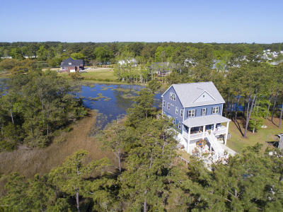 Morehead City Single Family Home Active Contingent: 2407 Marsh Tern Lane