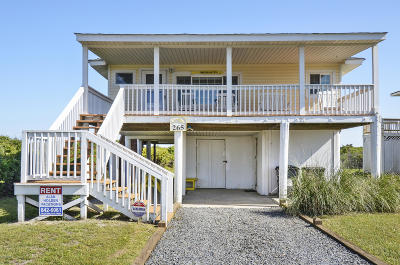 Holden Beach Single Family Home For Sale: 265 Ocean Boulevard E