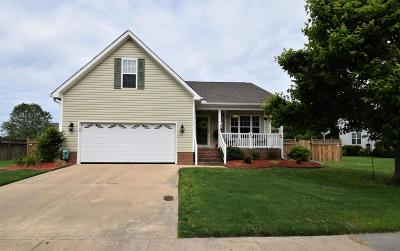 Winterville Single Family Home For Sale: 3716 Stillwood Drive