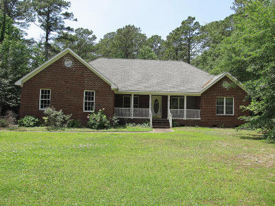 Morehead City Single Family Home For Sale: 707 Country Club Court